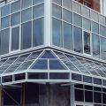 Алюминиевые витражи: особенности конструкции