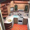 Ремонт на кухне 6 метров: отделка фасада кухонного помещения пластиковыми панелями