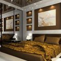 Какое освещение сделать в спальне: выбор концепции и цветовой гаммы