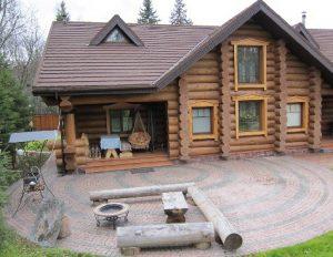 Дома ручной рубки - технология строительства домов