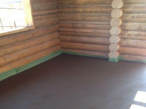 Стяжка под деревянные полы - особенности выбора и устройства