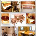 Мебель для бани из дерева: стилизуем деревянную мебель