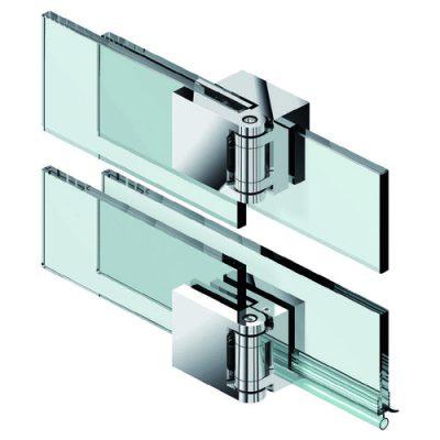 Особенности крепления петель для стеклянных дверей