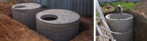 Стоимость септика из бетонных колец под ключ, что влияет на цену