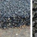 Черный щебень: свойства и состав, объемный вес, цена за м3, фото