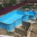 Бассейны из полипропилена и способ сооружения