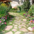 Садовые дорожки — оригинальные виды