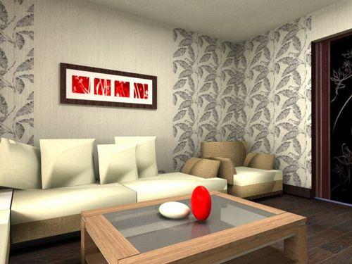Комбинирование обоев в гостиной: инструкция как скомбинировать
