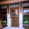 Входная пластиковая дверь на страже уюта и безопасности дома