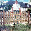 Установка забор из штакетника своими руками. Как сделать забор