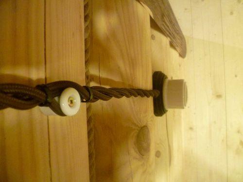 Ретро проводка, фото. Ретро проводка в деревянном доме