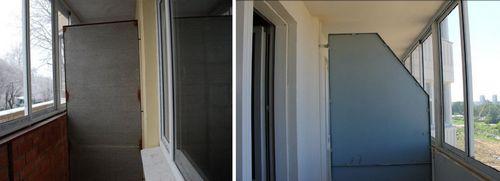 Перегородка на балконе от соседей: как сделать