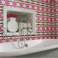 Обои для ванной комнаты: особенности выбора