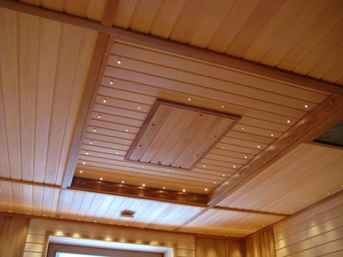 Обшивка потолка вагонкой своими руками - инструкция от мастера