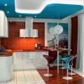 Дизайн-проект двухкомнатной квартиры: фото, п44т