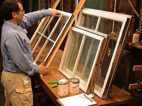 Ремонт деревянных окон с стеклопакетами своими руками