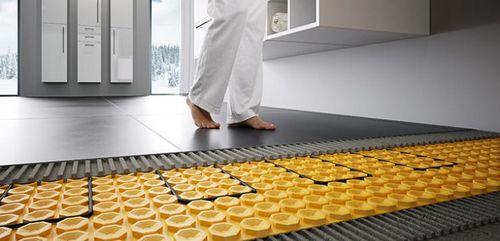Теплые водяные полы в частном доме: как правильно установить