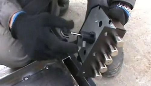 Устанавливаем гаражный замок своими руками