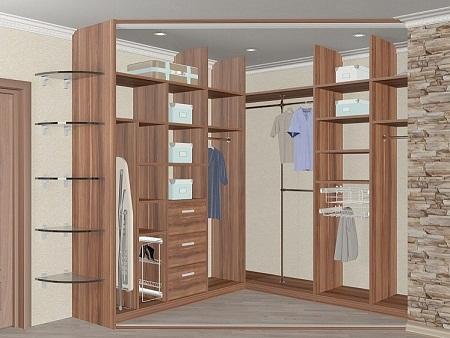 Онлайн конструктор гардеробной комнаты 3d: планировщик и проект