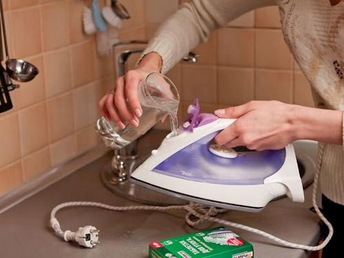 Как почистить утюг от накипи: очистить внутри, чистка