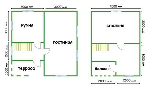 Строительство дачных домов (14 фото): под ключ, своими руками