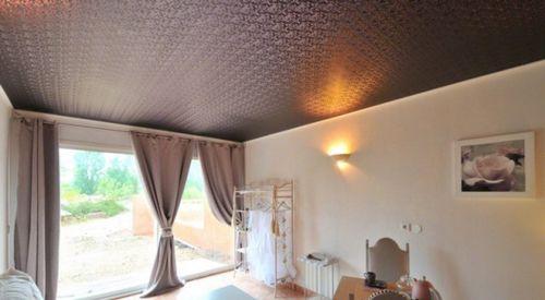 Натяжные потолки матерчатые - особенности, преимущества