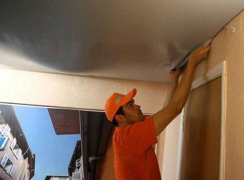 Как снять натяжной потолок: пошаговая инструкция по выполнению