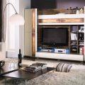 Мебельная стенка для гостиной: для зала фото, в квартире