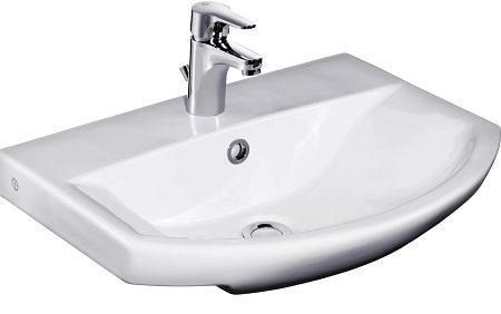 Размеры раковины для ванной комнаты: умывальники