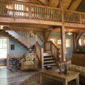 Устройство лестницы на второй этаж и лестничных ограждений