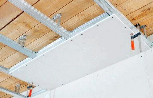 Пошаговая технология монтажа потолка из гипсокартона
