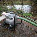 Мотопомпа для грязной воды