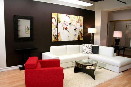 Идеи оформления стен гостиной фото: декор своими руками