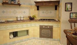 Какую плитку выбрать и положить на кухне