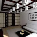 Люстра в японском стиле— Обустрой дом