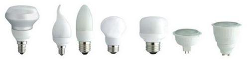 Энергосберегающие лампочки для точечных светильников