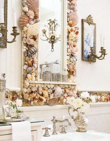Как украсить зеркало: своими руками рама, как задекорировать