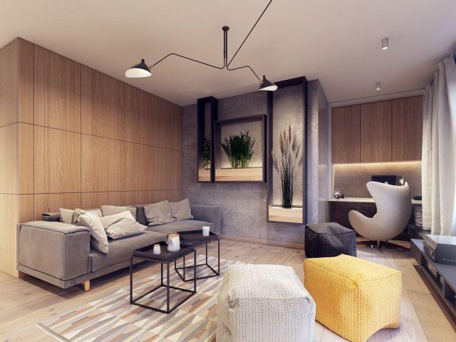 Дизайнерские решения в интерьере квартиры