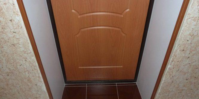 Варианты отделки дверных откосов