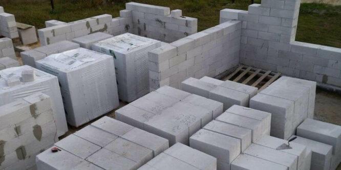Все о газосиликатных блоках: характеристики, правила хранения, сфера применения