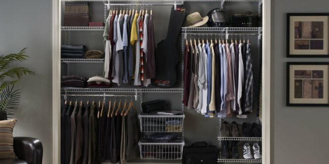 Что и как хранить в шкафах-купе?