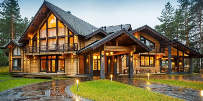 Деревянные дома под ключ для вас!
